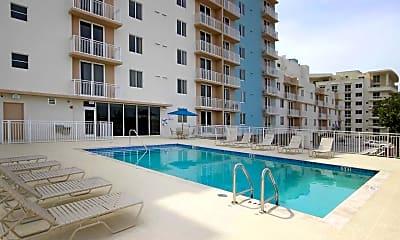 Pool, Gibraltar Apartments, 1