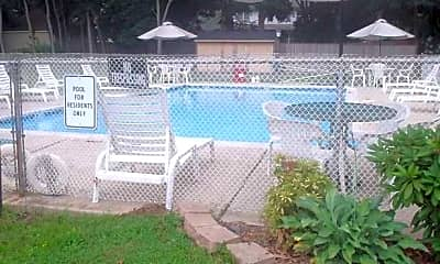 Pool, Landis Terrace Apartments, 1