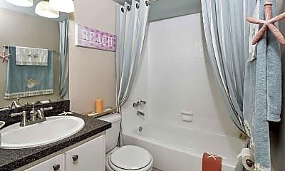 Bathroom, Set Point Apartments, 2