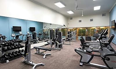Fitness Weight Room, Eagle Ridge Apartments, 2