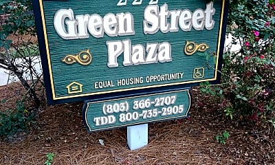 Green Street Plaza, 1