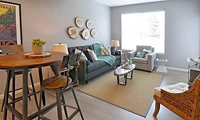 Living Room, 801 Polaris, 1