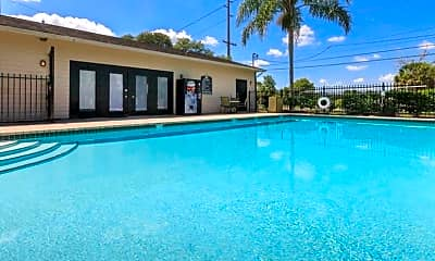 Pool, The Palms at Ashley Oaks, 2