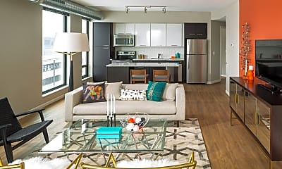 Living Room, 400 S Marquette Ave 3001, 1