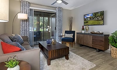 Living Room, The Retreat at Lakeland Apartments, 1