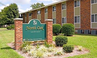 Community Signage, North Oak Apartments, 1
