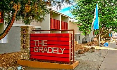 Community Signage, The Gradely, 0