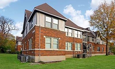 Building, Overton Gardens, 1