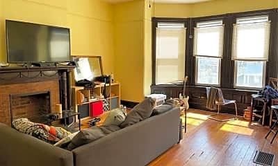 Living Room, 4723 Baltimore Ave, 1