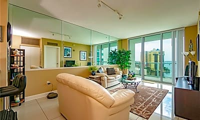 Living Room, 3000 Oasis Grand Blvd 1406, 0