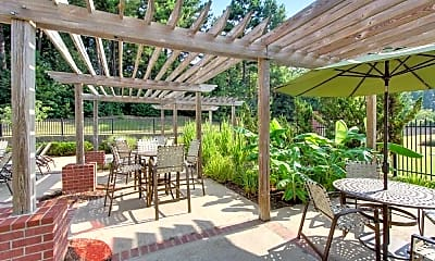 Patio / Deck, Reserve at Woodchase Apartment Homes, 2