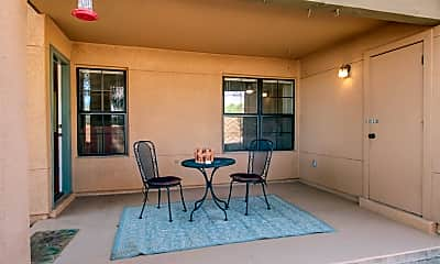 Patio / Deck, 6651 N Campbell Ave 108, 2