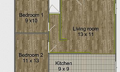 Bathroom, 7901 Trumbull Ave SE, 2