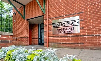 Community Signage, Wesley Place, 2
