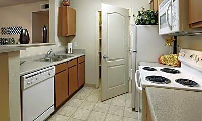 Kitchen, The Bluffs, 1