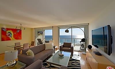 Living Room, 201 Ocean Ave 1803B, 0