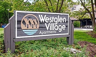 Community Signage, Westglen Village Apartments, 1