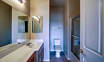 Bathroom, Plum Tree Apartments, 2