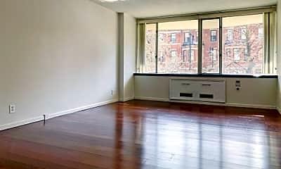 Living Room, 330 Beacon St, 1