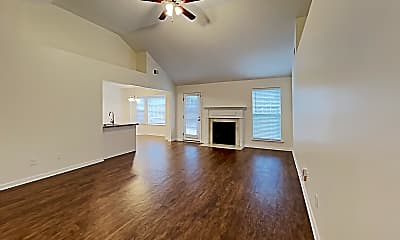 Living Room, 8014 Burntwood Drive, 1