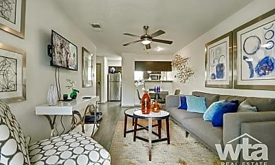 Living Room, 9500 Dessau Rd, 0