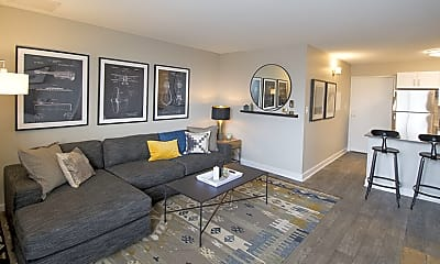 Living Room, The Scott at East Village, 1