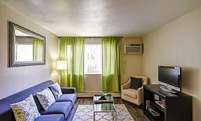 Living Room, Vista Park Apartments, 1