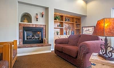 Living Room, Aspen Ridge Apartments, 2