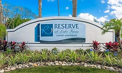 Community Signage, Reserve at Lake Irene, 2