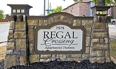 Community Signage, Regal Crossing, 2
