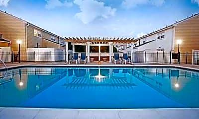 Pool, Walker's Chase Townhomes, 1