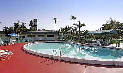 Pool, Lake Delray Apartments, 1