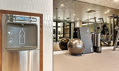 Fitness Weight Room, The Estelle Luxury Living, 2