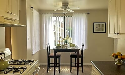 Dining Room, Woodvale Apartments, 2
