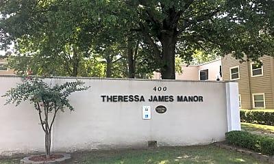Theressa James Manor, 1