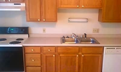 Kitchen, The Blackstone Apartments, 1
