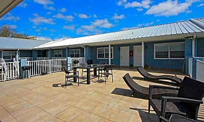Recreation Area, Cypress Cove Luxury Beach Front Apartments, 1