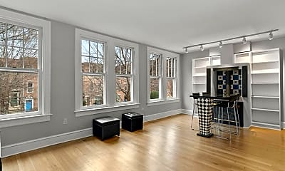 Living Room, 1816 T St NW, 1