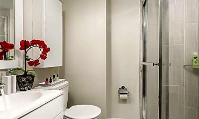 Bathroom, North Lane Apartments, 1