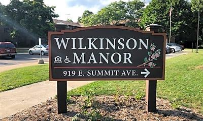 Wilkinson Manor, 1