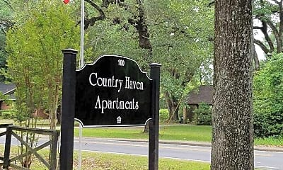 Community Signage, Country Haven Apartments, 2