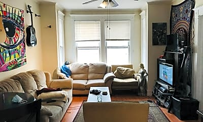 Living Room, 2223 N Sawyer Ave, 2