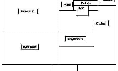 Floor Plan, 1909 E 123 Street, 1