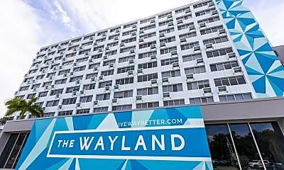 Community Signage, The Wayland, 2