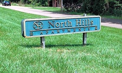 North Hills Apartments, 1