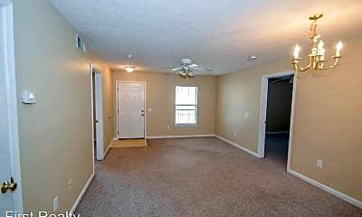 Living Room, 650 N Ross St, 1