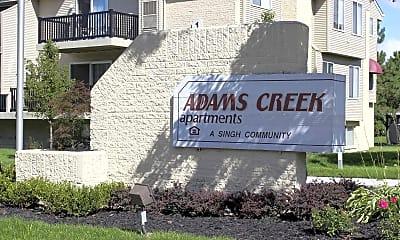 Community Signage, Adams Creek, 2