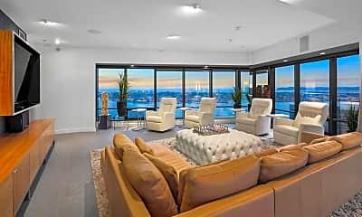 Living Room, 200 Harbor Dr 3602, 0