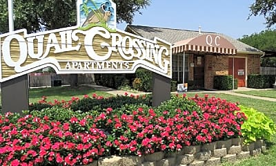 Community Signage, Quail Crossing, 1