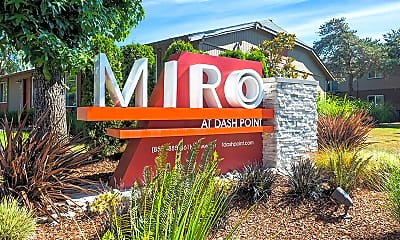 Community Signage, The Miro at Dashpoint, 0